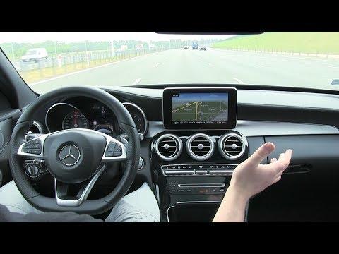 Mercedes-Benz klasy C: Distronic Plus, asystent utrzymania pasa ruchu i samodzielna jazda w korku