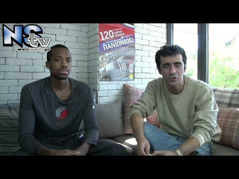 Συνέντευξη με Errick McCollum, Μπασκετομπολίστα Πανιώνιου