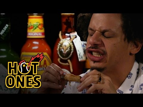 Eric Andre Turns Into Tay Zonday While Eating Spicy Wings | Hot Ones