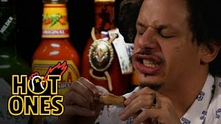Download Eric Andre Turns Into Tay Zonday While Eating Spicy Wings | Hot Ones Mp3 and Videos