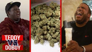Download Smoking Weed Challenge | Teddy vs. DoBoy | All Def Cannabis