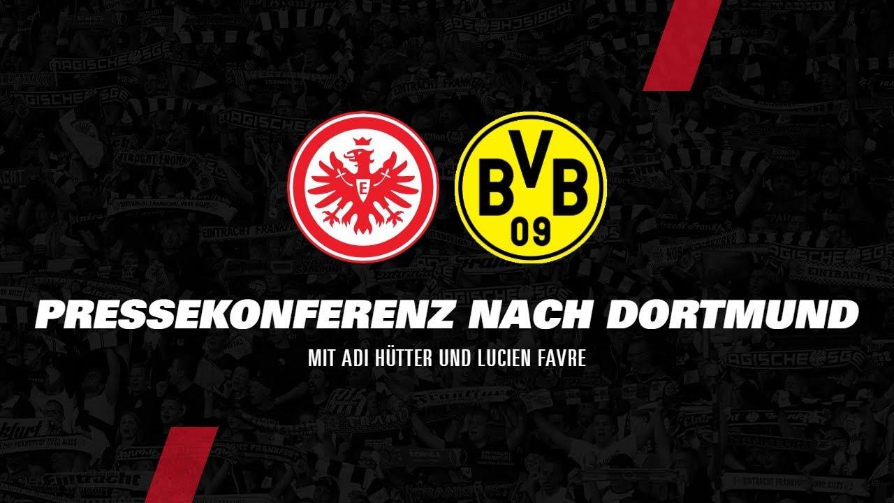 Pressekonferenz nach Eintracht - Dortmund | 5. Bundesliga-Spieltag