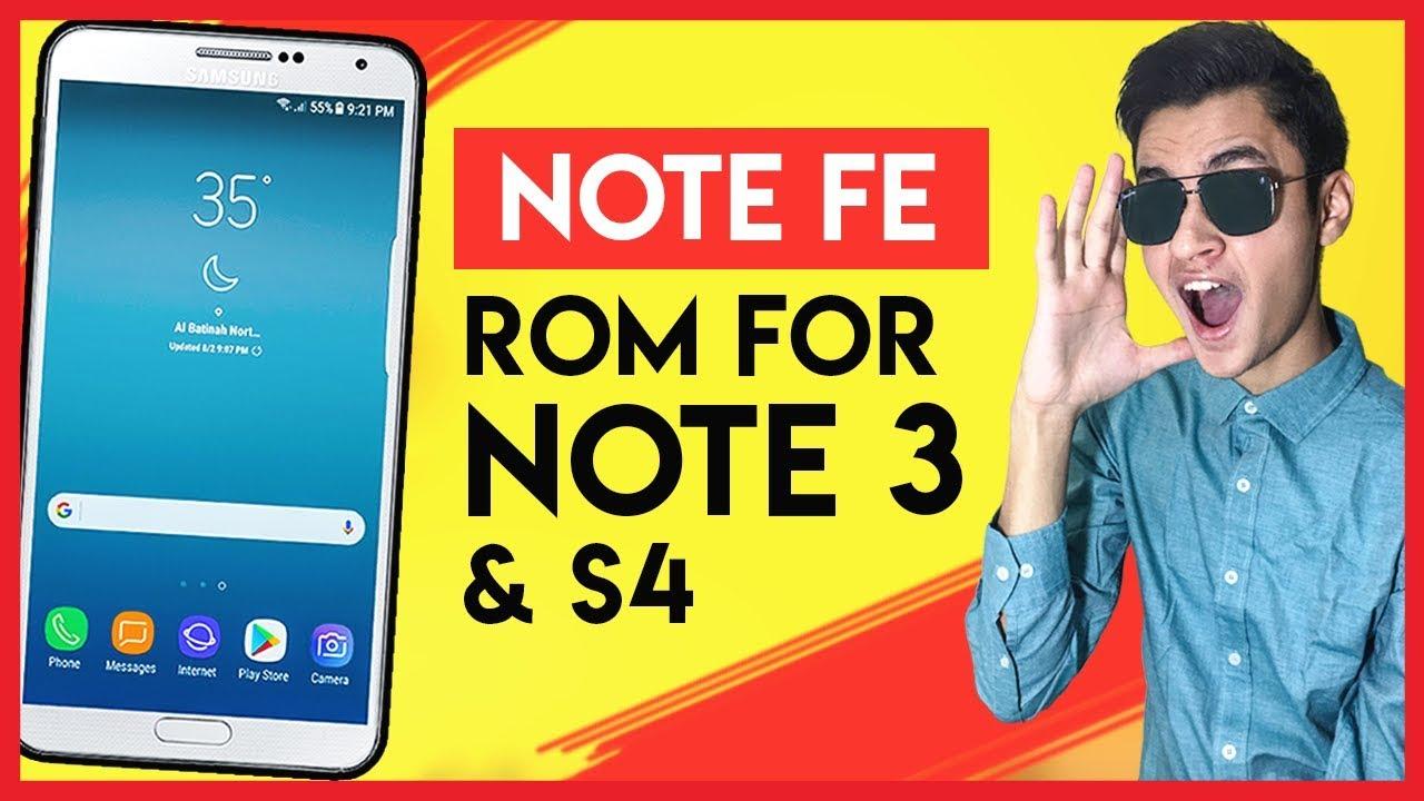 Galaxy Note 8/FE/S8 Rom for Galaxy Note 3 & Galaxy S4 - [NX TEAM] MagMa NX  VX1