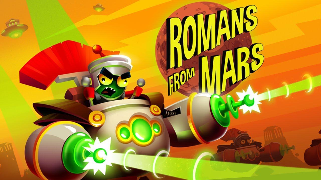 بازی اندروید رومیان مریخ Romans From Mars