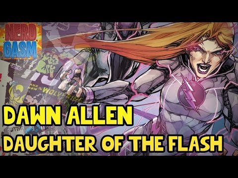 Who is Dawn Allen? Daughter of The Flash Barry Allen