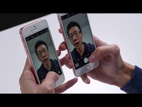 iPhone SE vs iPhone 6s - Test - Touch ID & Camera