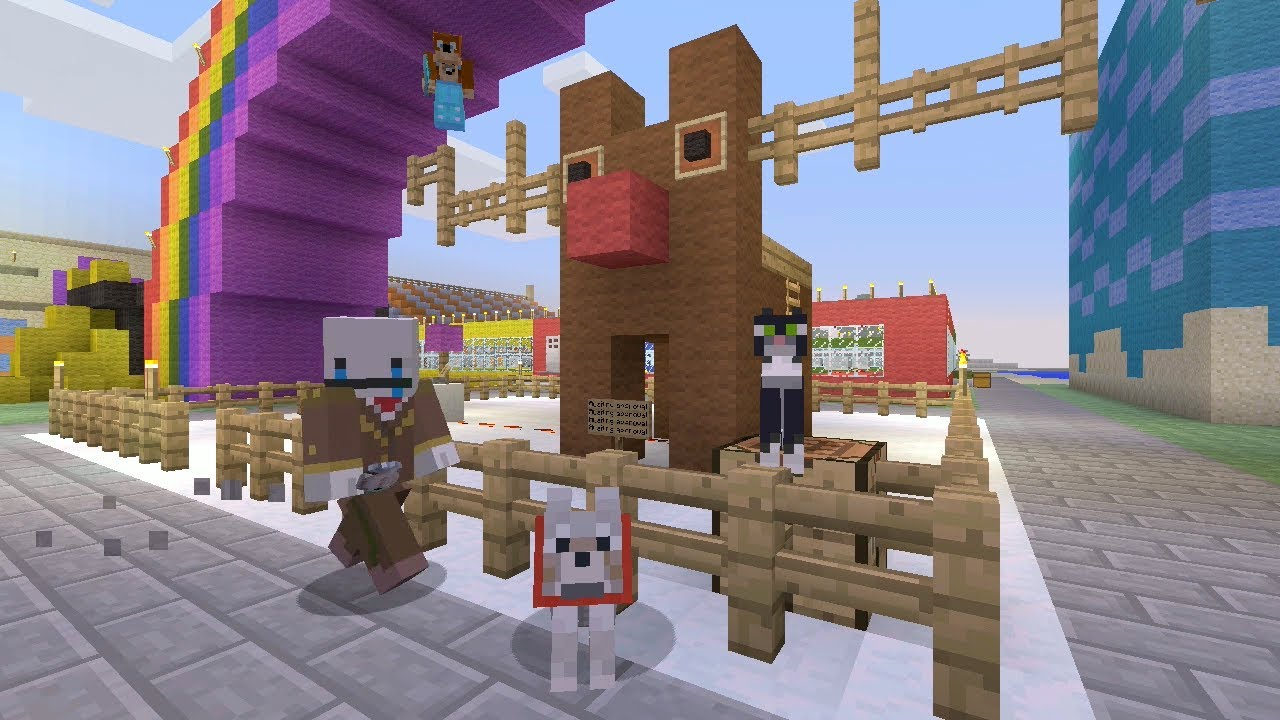 Minecraft Xbox Reindeer Rodeo 151 Youtube