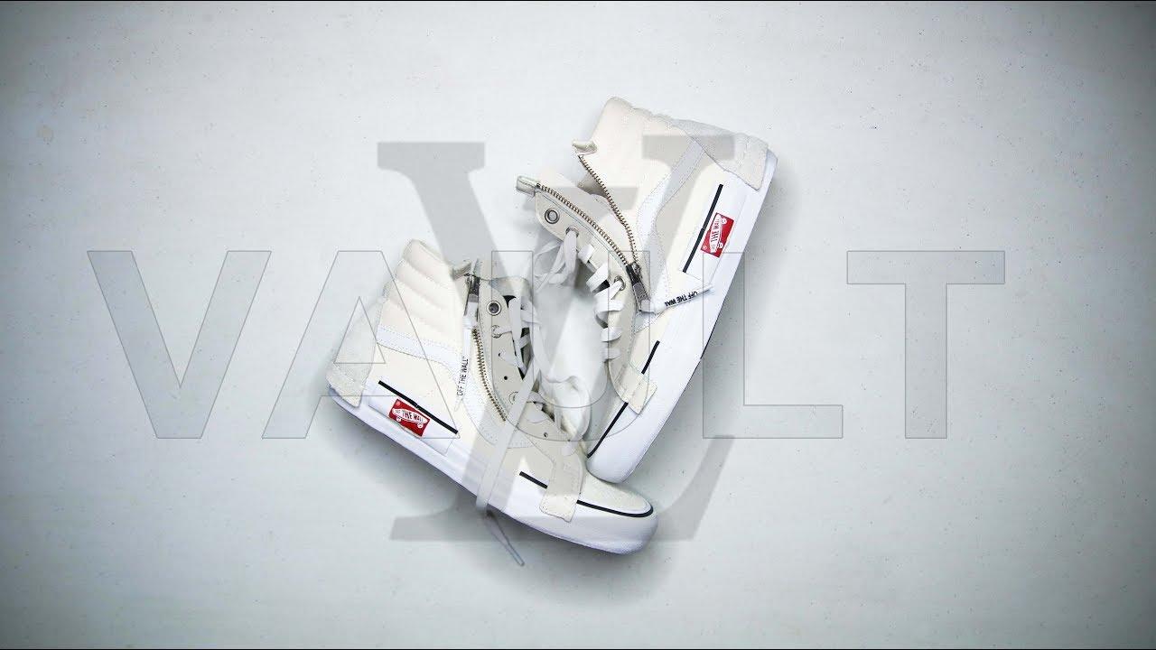 046372a16275 VANS COPIED VIRGIL ABLOH S OFF- WHITE DESIGN     Vans CAP LX Sk8-HI  Deconstructed