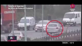 Tigre: Se tiró del auto para evitar un robo