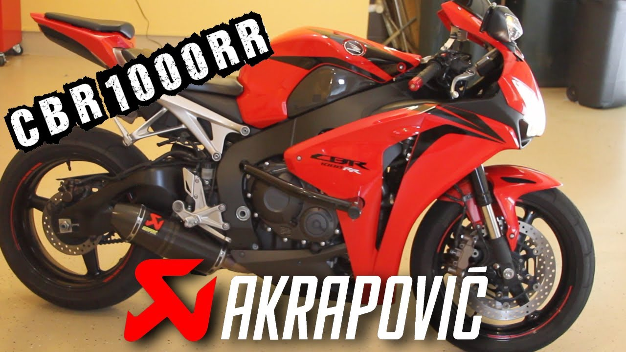 Akrapovic Evolution Full Exhaust System Honda Cbr1000rr