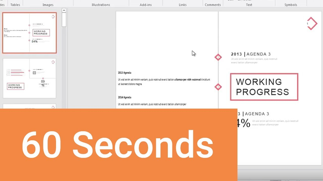 How to Insert Word Documents into PowerPoint in 60 Seconds