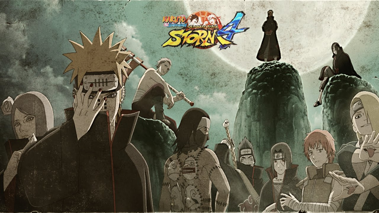 Naruto joins the akatsuki Naruto Shippuden storm 4 road to