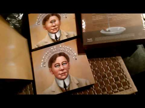 King Crimson unboxing of the Radical Action deluxe box