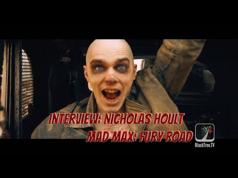 Mad Max: Fury Road interview w/ 'war boy' Nicholas Hoult