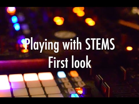 Playing w STEMS and Kontrol F1