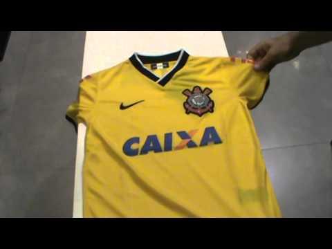 6b901b47cbcf3 Camisa Corinthians 3 2014 Nº 4 Gil (zagueiro) - R$ 499,00 em Mercado Livre