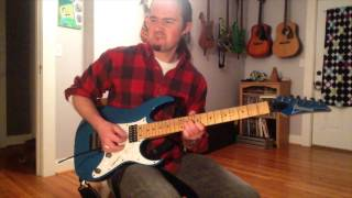 Dimarzio Gravity Storm bridge - The Cars - Just What I Needed solo cover