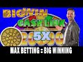 HUGE* LIVE WIN in Las Vegas Slot Machines with Brian ...