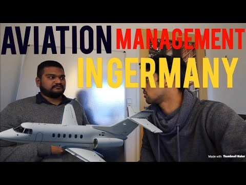Master's in Aviation Management in Germany