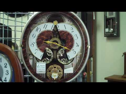 Sekio Musical Clocks By Clocktiques - Clock Sales and Repair Raleigh Wake Forest NC