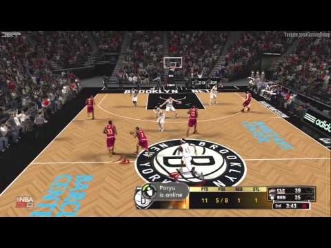 NBA 2K13: Brooklyn Nets Vs Cleveland Cavaliers Ranked Online Match [HD] Gameplay Xbox360/PS3/PC
