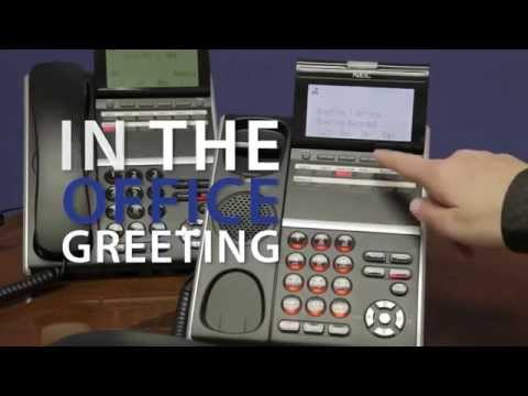 How to Change Your Active Voicemail Greeting on NEC Business