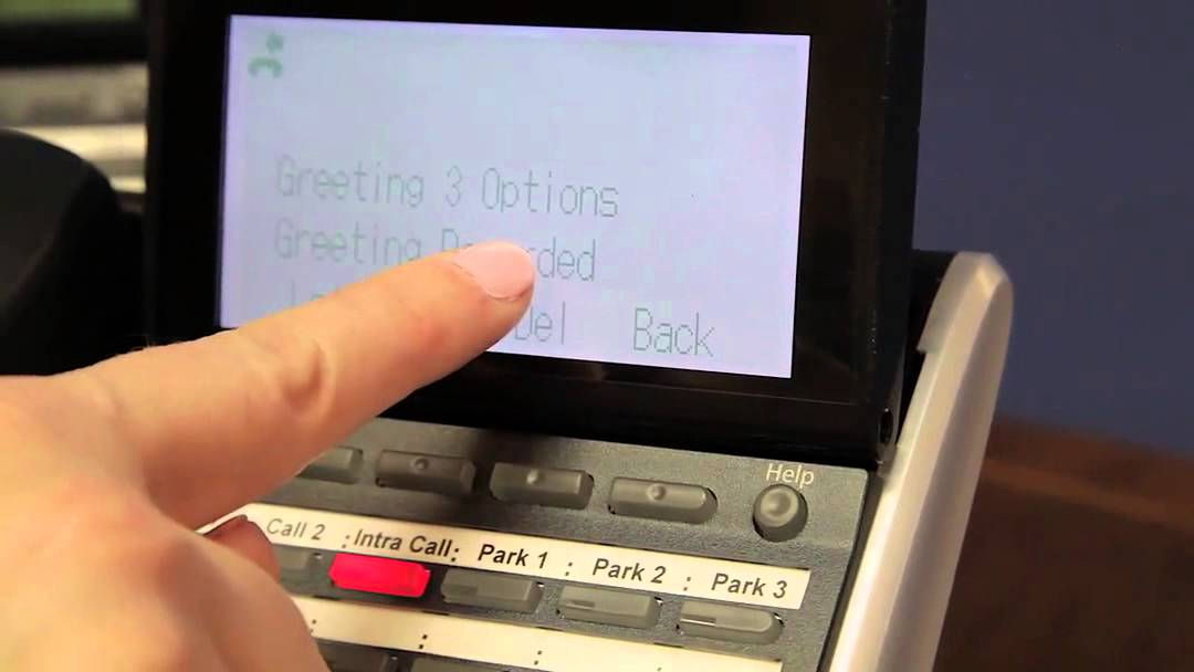 How To Change Your Active Voicemail Greeting On NEC Business Telephone Systems ServiceMark Telecom