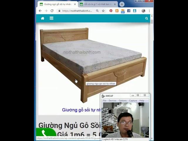 Giường Ngủ Gỗ Sồi Tự Nhiên MS 9543 - Giao hàng tận nơi