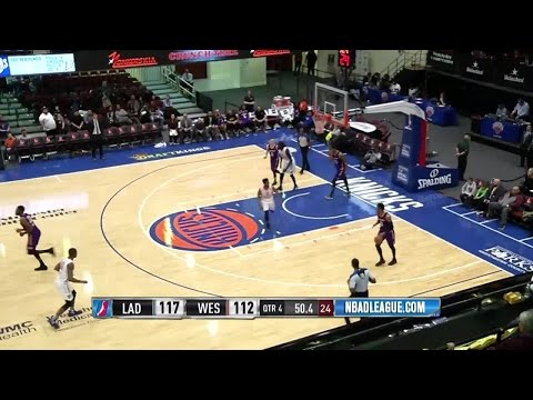 Highlights: Von Wafer (24 points)  vs. the D-Fenders, 12/20/2016