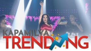 Maja together with ASAP BFF5 in an all-girl dance showdown