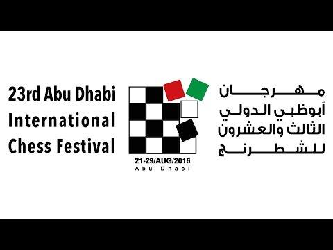 23rd Abu Dhabi international Chess Festival  day 1 part 1