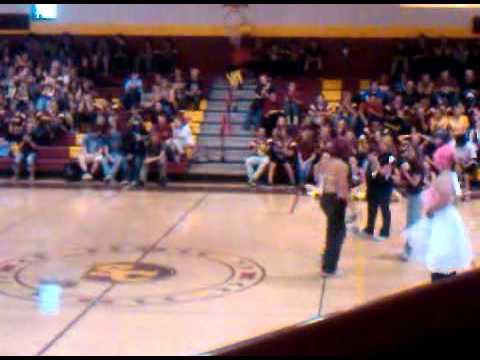 Badella performs at sierra high school