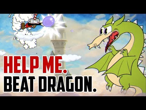 Cuphead : How to Beat Dragon Boss (Grim Matchstick)