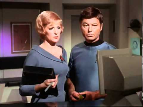 DeForest Kelley & Majel barrett 1 - Nobody Knows
