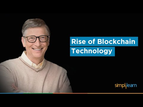 Why Blockchain Matters More Than You Think - Jack Ma, Bill Gates, Elon Musk, Vitalik|Simplilearn