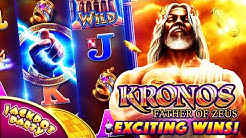 Play Kronos: Father of Zeus with Jackpot Party Casino!