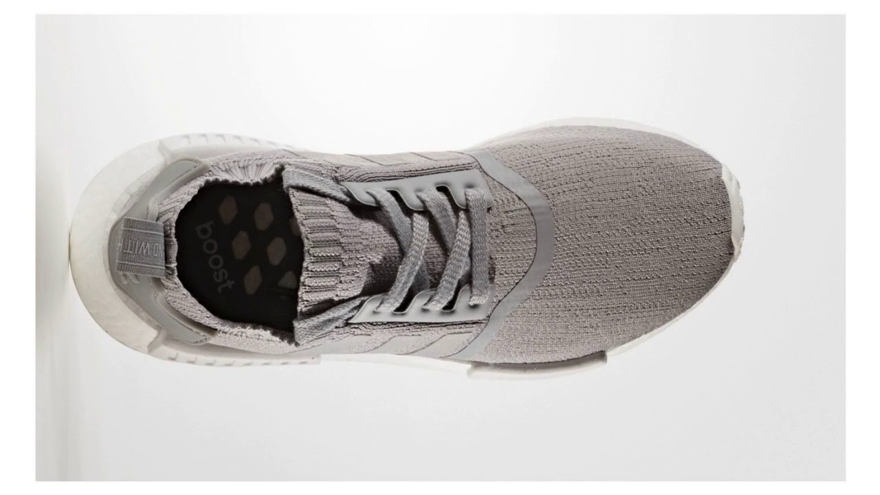 buy popular eb5f0 072e1 Adidas NMD R1 Primeknit Grey Three