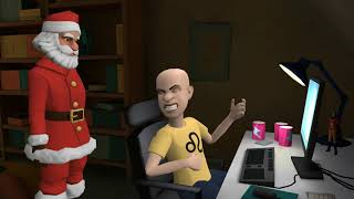 Caillou Gets No Christmas Presents and Grounded for Jerking Off to Pornhub
