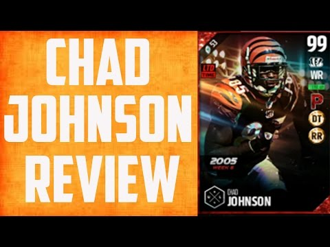 How good Is 99 Overall Chad Johnson? MUT 17