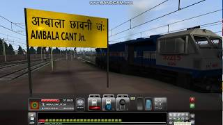 PC GAME SWARAJ EXPRESS FROM AMBALA CANTT TO LUDHIANA PART 1