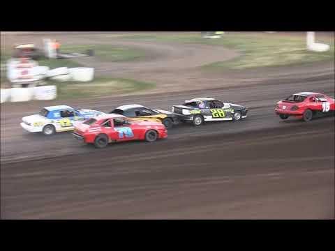 2017 Hornet Heat Races at Farmer City Raceway