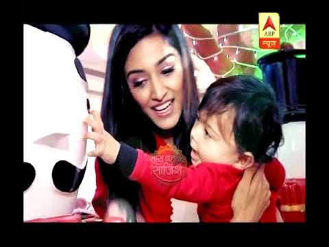 Erica Fernandes with her son celebrates Christmas with SBS