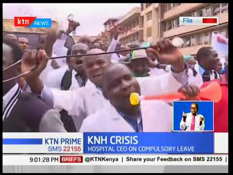 700 student doctors at KNH and Eldoret's Moi Teaching and Referral Hospital have boycotted work