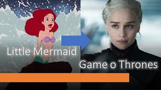 GAME OF THRONES - THE IRON THRONE - DISNEY STYLE -  THE LITTLE MERMAID ENDING