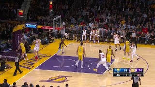 4th Quarter, One Box Video: Los Angeles Lakers vs. Indiana Pacers