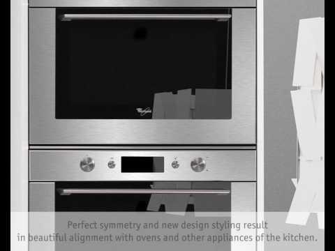 corner unit microwave oven