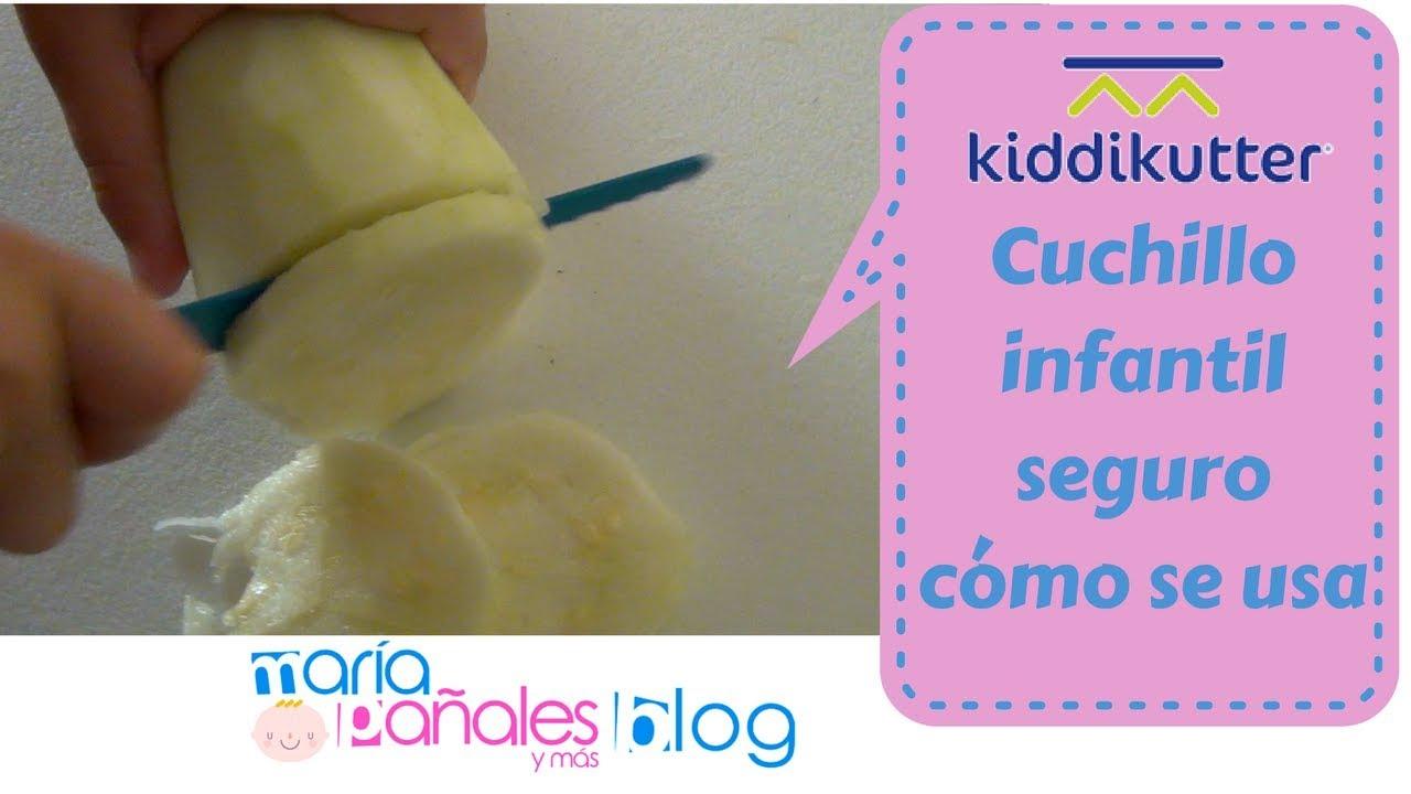 Great Kiddikutter: Cómo Se Usa El Cuchillo Infantil   María Pañales Y Más