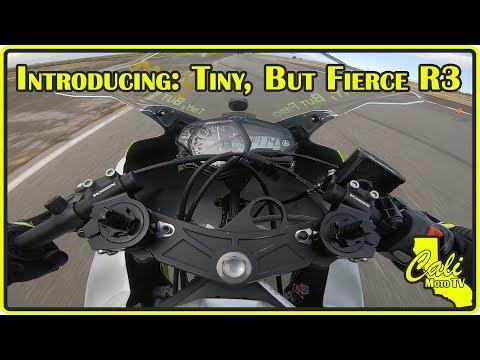 Introducing The Tiny, But FIERCE Yamaha R3