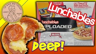 Lunchables Ultimate Deep Dish Pepperoni Pizza Cheese It Fruit Roll-Up Kool Aid