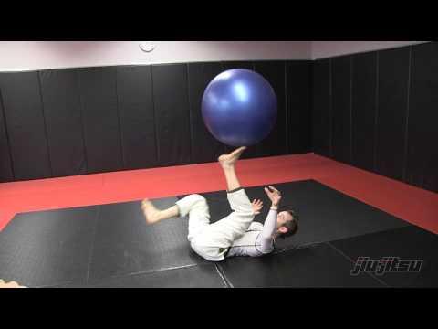 Jeff Glover, Stability Ball Work Bottom: Jiu-Jitsu Magazine, Issue #23